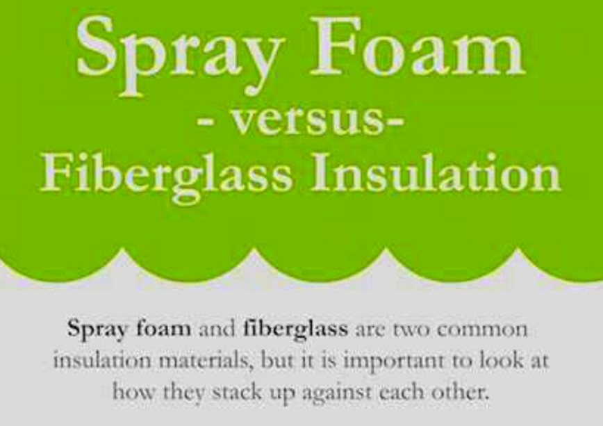 Spray Foam VS Fiberglass Insulation