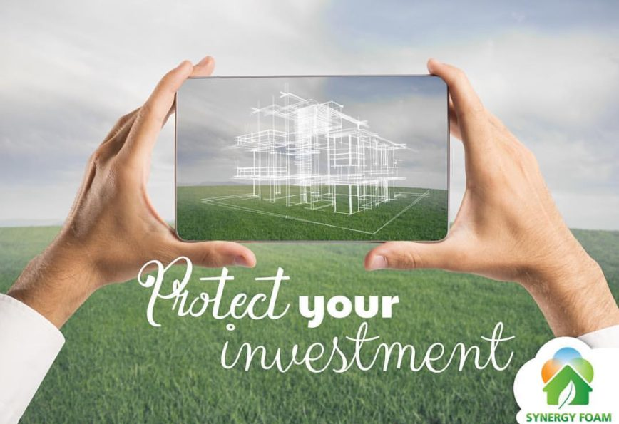 spray foam protects your investment