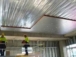 Insulation solutions pinned in place